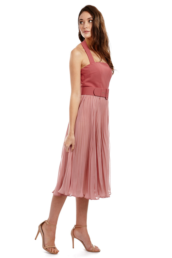 MARILYN DRESS - PINK - GEORGY COLLECTION