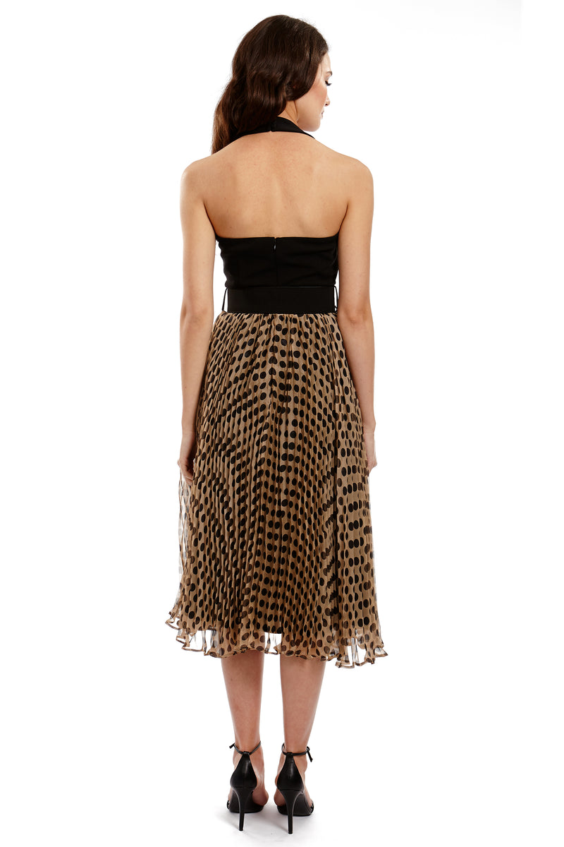 MARILYN DRESS - POLKA - GEORGY COLLECTION