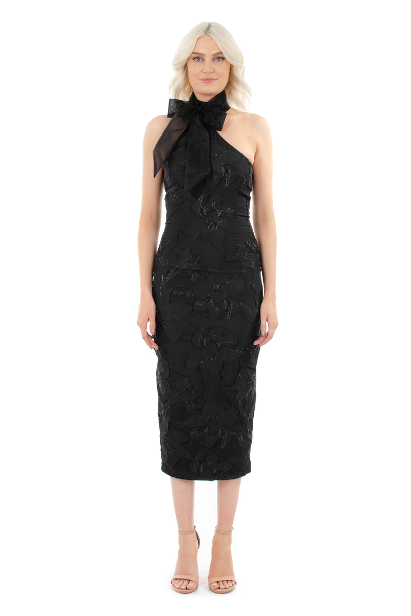 MILA DRESS - BLACK - GEORGY COLLECTION