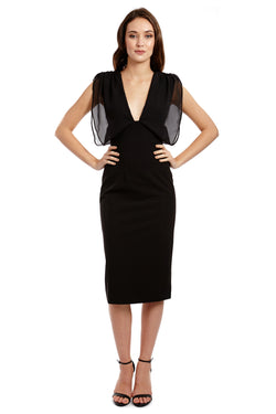 MISHONE DRESS - BLACK - GEORGY COLLECTION