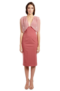 MISHONE DRESS - PINK - GEORGY COLLECTION