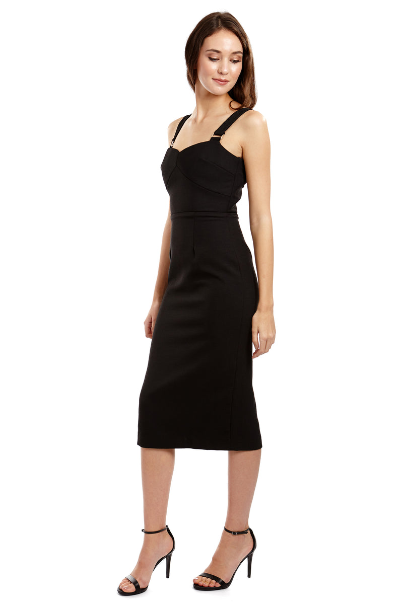 NIKITA DRESS - BLACK - GEORGY COLLECTION