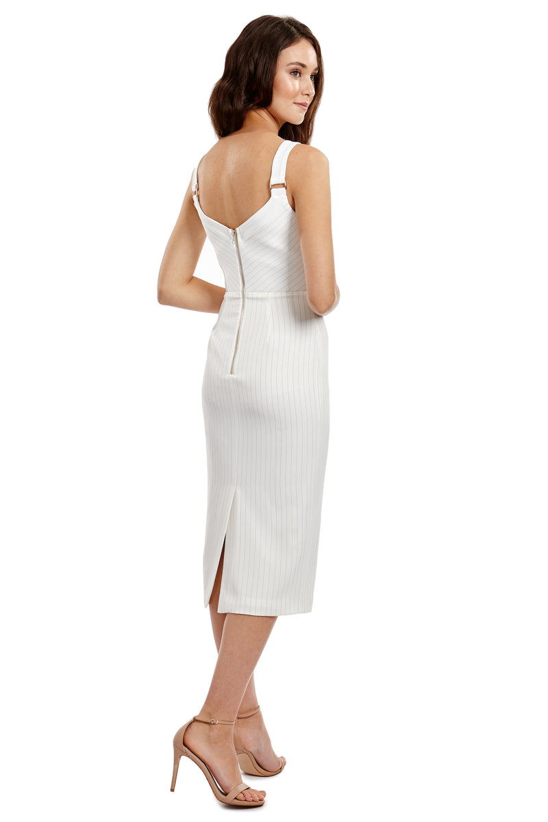 NIKITA DRESS - WHITE - GEORGY COLLECTION