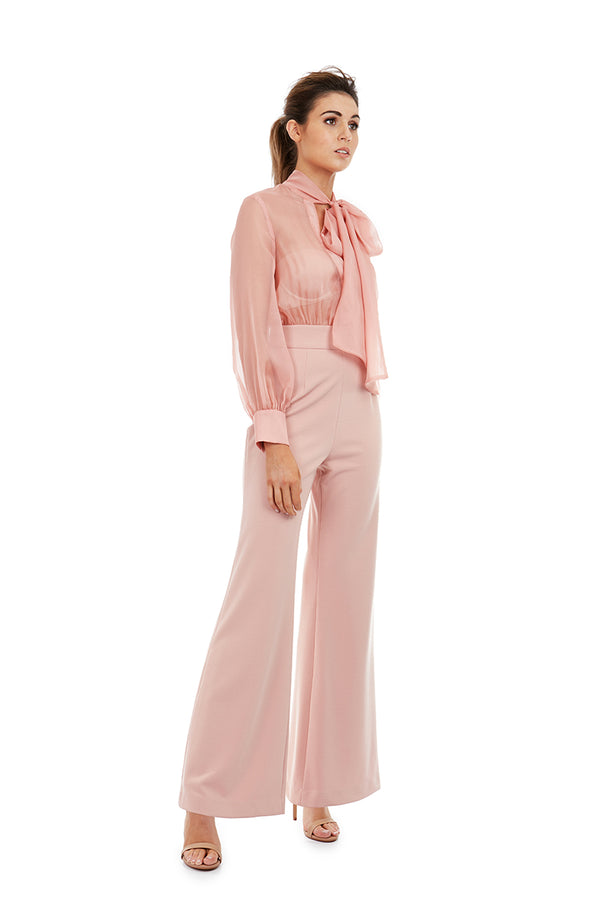 OLIVIA PANTSUIT - PINK - GEORGY COLLECTION