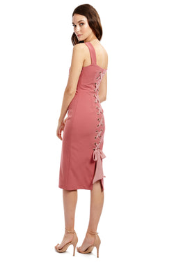 SVETLANA DRESS - PINK - GEORGY COLLECTION