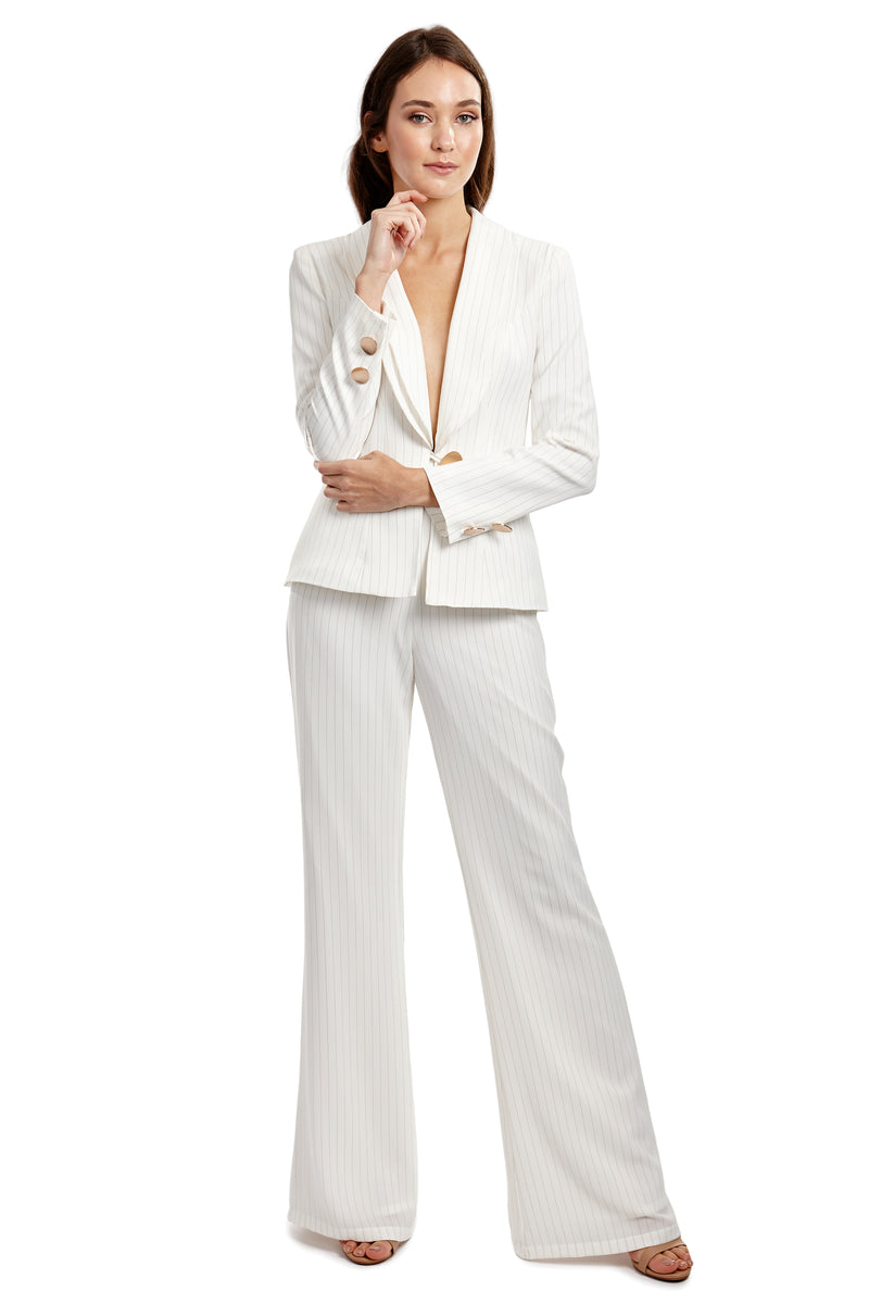 TATIANA BLAZER - WHITE - GEORGY COLLECTION