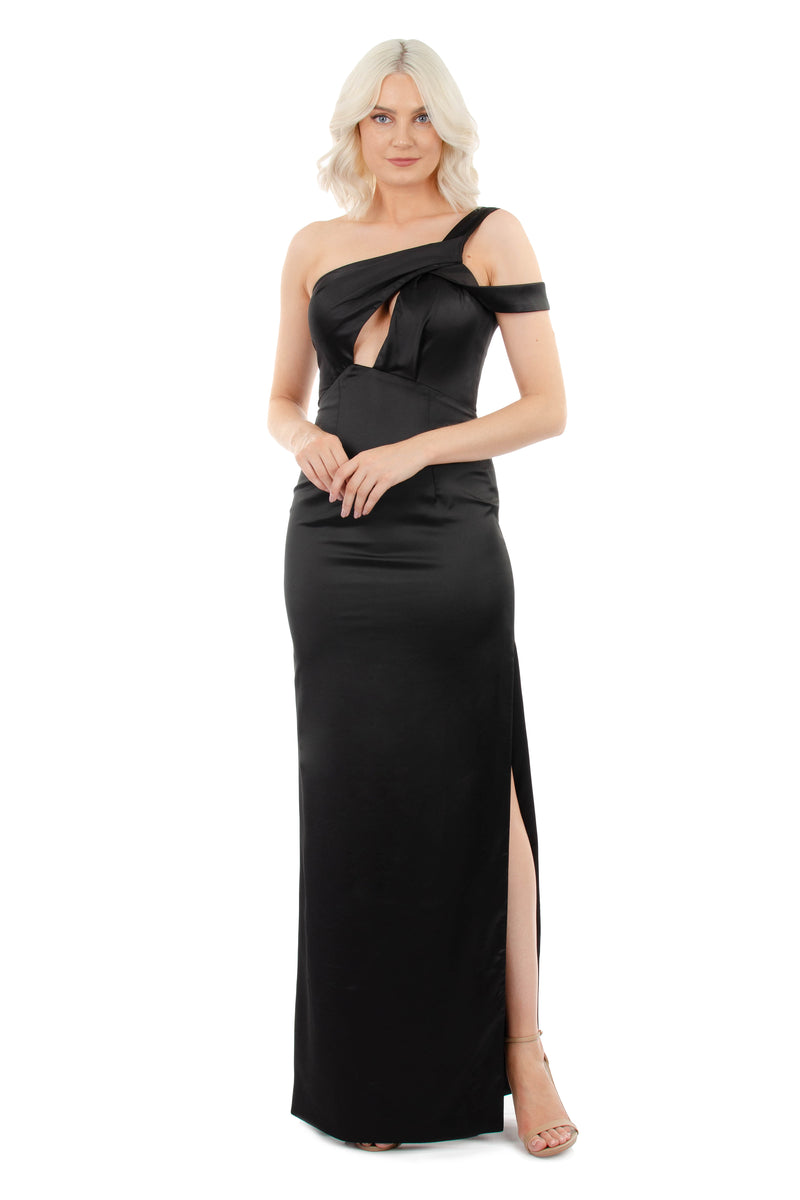 VIOLETTA GOWN - BLACK - GEORGY COLLECTION