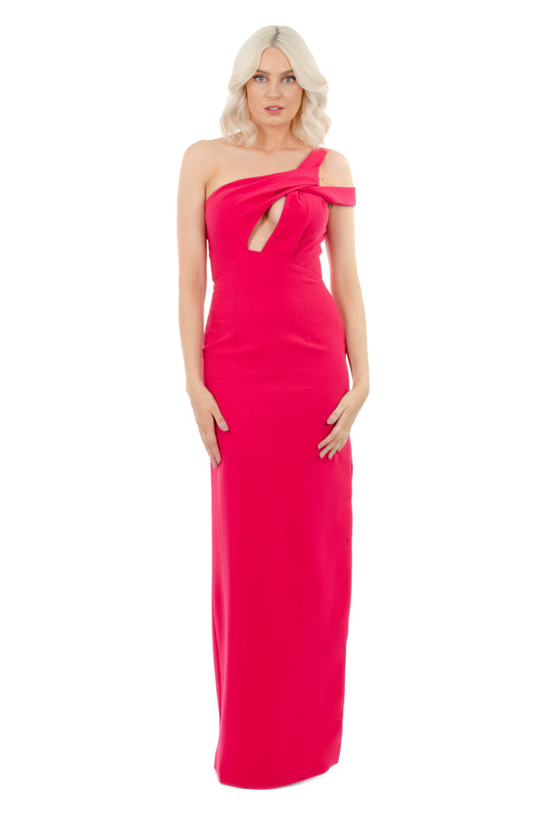 VIOLETTA GOWN - FUSHIA - GEORGY COLLECTION
