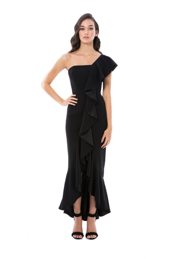 VALENTINA GOWN - BLACK - GEORGY COLLECTION
