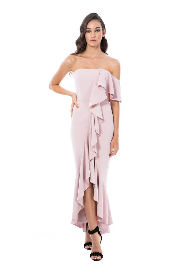 VALENTINA GOWN - PINK - GEORGY COLLECTION