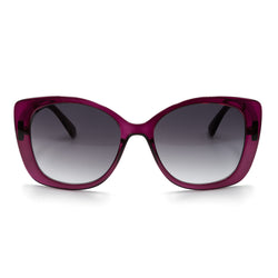 BIANCA SUNGLASSES - PLUM - GEORGY COLLECTION