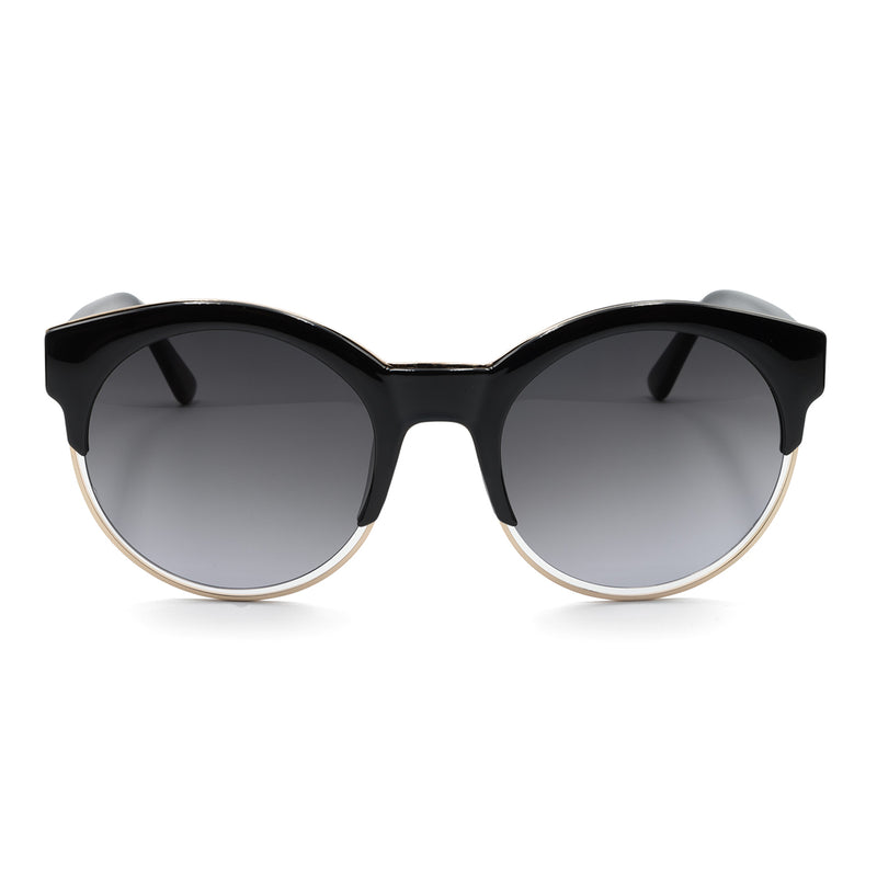 ELLA SUNGLASSES - BLACK - GEORGY COLLECTION