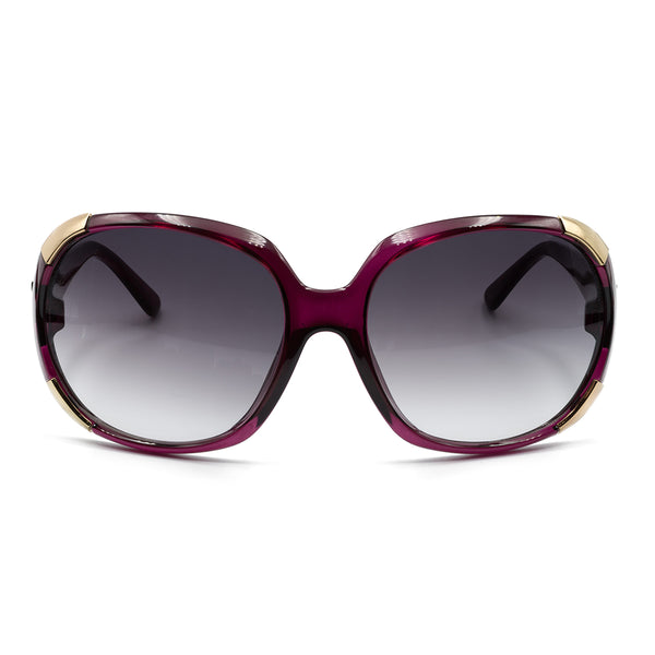 HARPER SUNGLASSES - PLUM - GEORGY COLLECTION