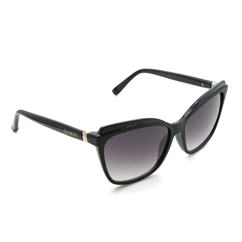 MADISON SUNGLASSES - BLACK - GEORGY COLLECTION