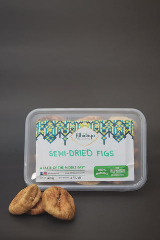 Semi-Dried Figs - Albidaya Organic Souq