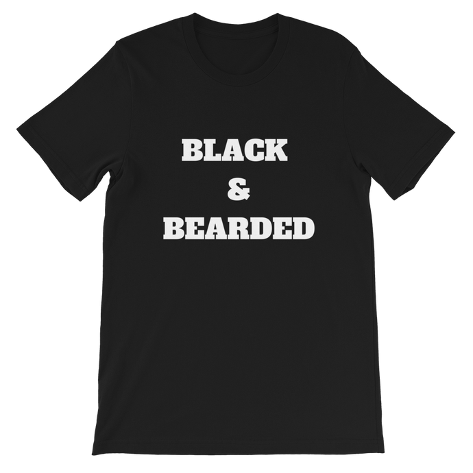 Black & Bearded Tee
