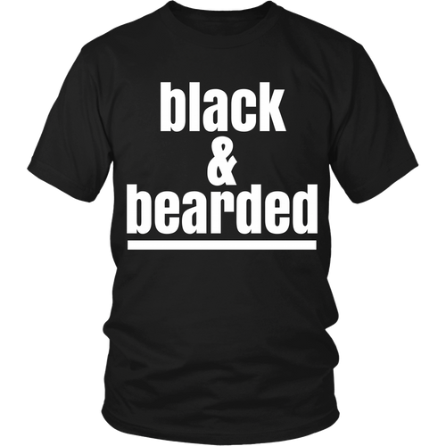 Black And Bearded