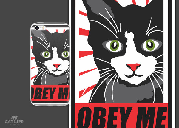 Obey Me - iPhone 5/5s/Se, 6/6s, 6/6s Plus Phone Case