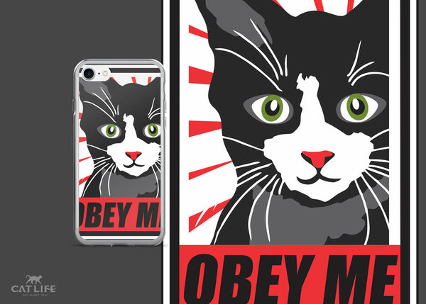 Obey Me - iPhone 7/7 Plus Phone Case