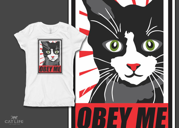 Obey Me - Girls Short Sleeve T-Shirt