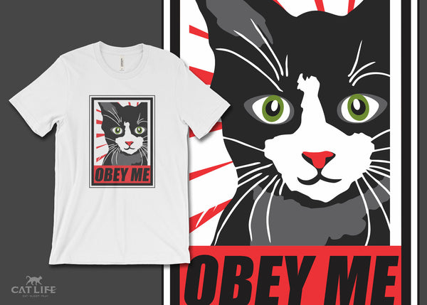 Obey Me - Unisex Short Sleeve T-Shirt