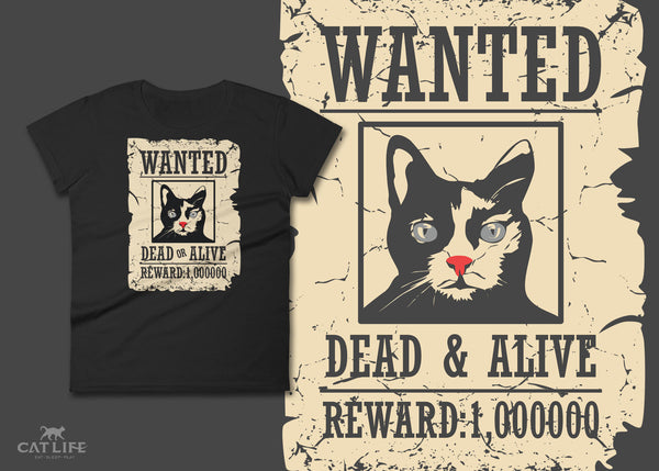 Dead or Alive- Womens Short Sleeve T-Shirt