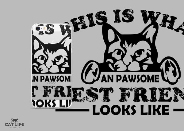 Pawesome Friend- iPhone 5/5s/Se, 6/6s, 6/6s Plus Phone Case