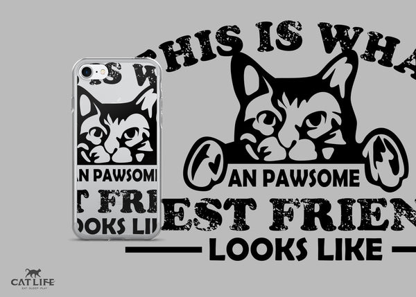 Pawesome Friend- iPhone 7/7 Plus Phone Case