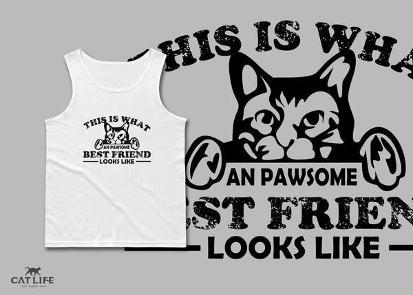 Pawesome Friend - Unisex Classic Tank Top