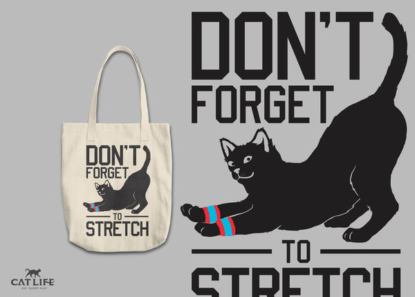 Don't Forget Stretch - Round Tote