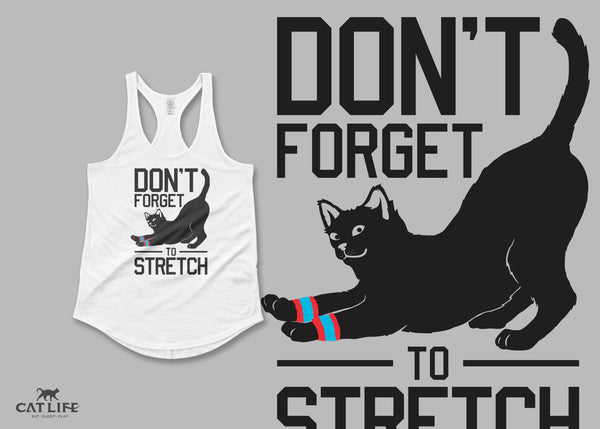 Don't Forget Stretch - Womens Shirttail Tank Top