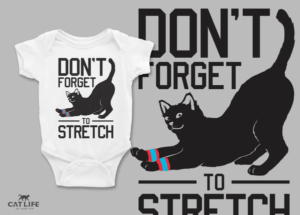 Don't Forget Stretch- Infant Short Sleeve Onesie
