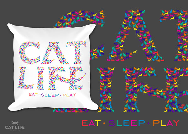 Catlife Multicolor - Pillow