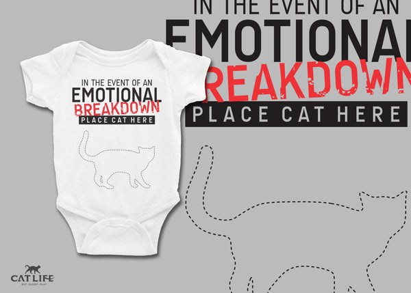 Place Cat Here - Infants Short Sleeve Onesie