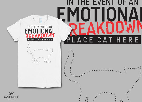 Place Cat Here - Womens Short Sleeve T-Shirt