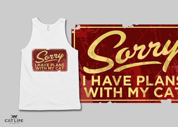 Sorry I Have Plans - Unisex Classic Tank Top
