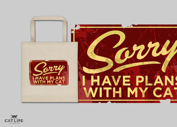 Sorry I Have Plans - Tote Square Bag