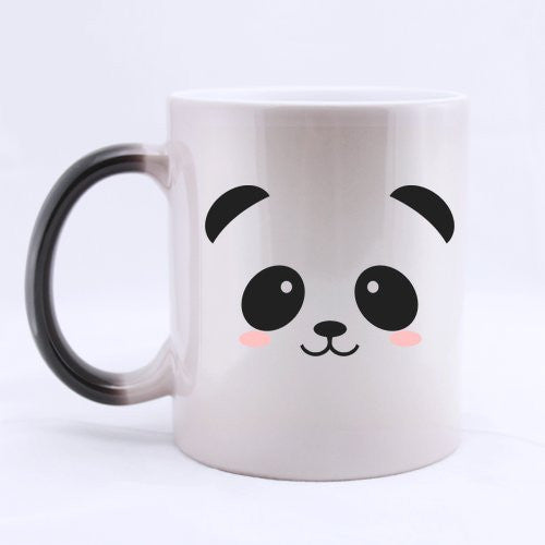 Cute Panda Heat Sensitive Color Changing Coffee Mug