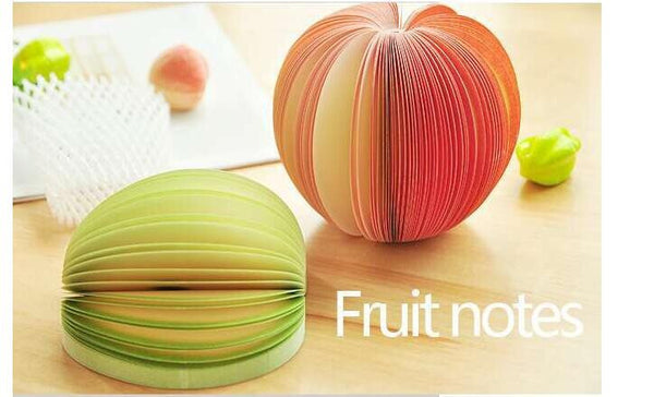 Cute Fruit Vegetables  Sticky Notes