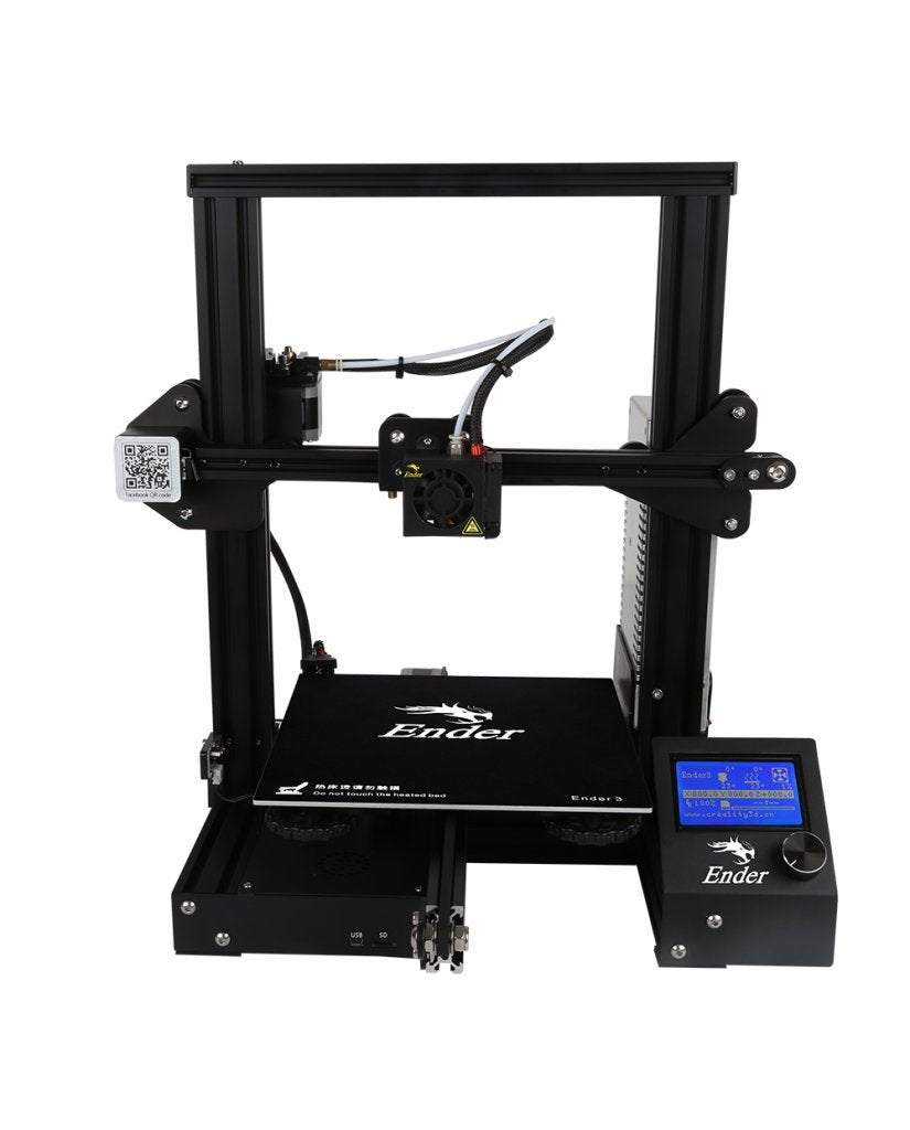 creality ender 3 3d printer kit in stock now nolimits3d. Black Bedroom Furniture Sets. Home Design Ideas
