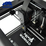 Wanhao Duplicator 6 Plus 3D Printer with side and top covers