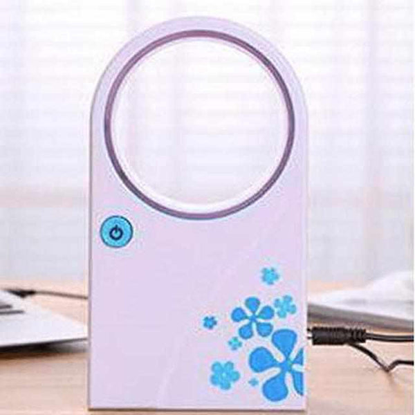 Tech & Gadgets - Ultra Stille Mini Kleine USB Fan Zonder Bladen