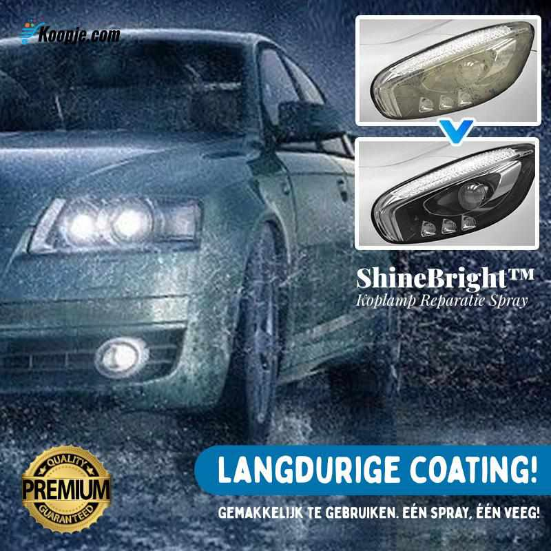 ShineBright™ - Koplamp Reparatie Spray-Koopje.com