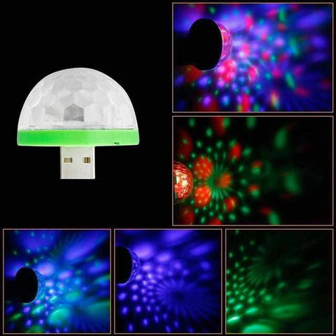 Image of USB Paddenstoel Disco Lamp-Koopje.com