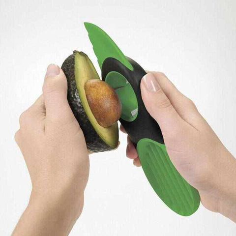 Image of Wonen & Koken - Multifunctionele 3-in-1 Avocadosnijder