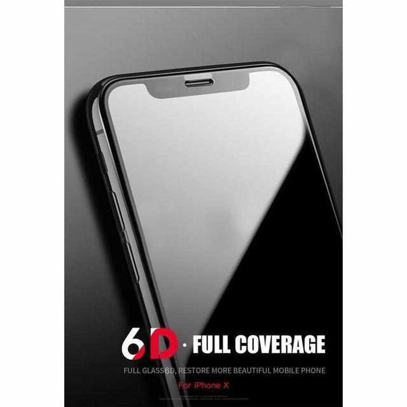 6D Full Cover Gehard glas voor iPhone-Koopje.com