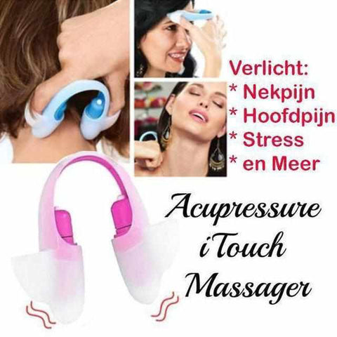 Image of Acupressure iTouch Massager-Koopje.com