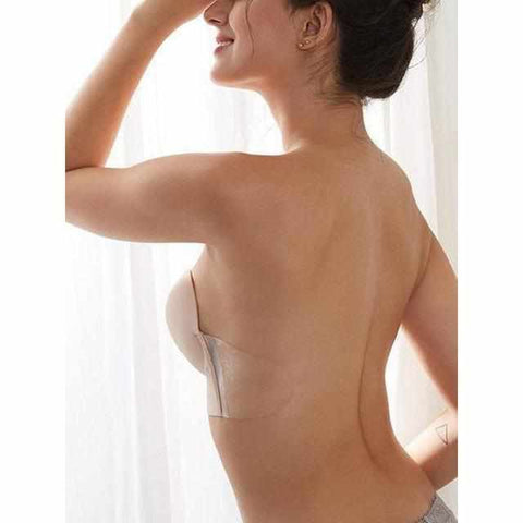 Image of Onzichtbare Strapless & Backless Zelfklevende Push-up BH-Koopje.com