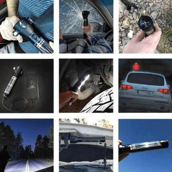 Auto & Reizen - Roadside Hero 9-in-1 Multifunctional Tool