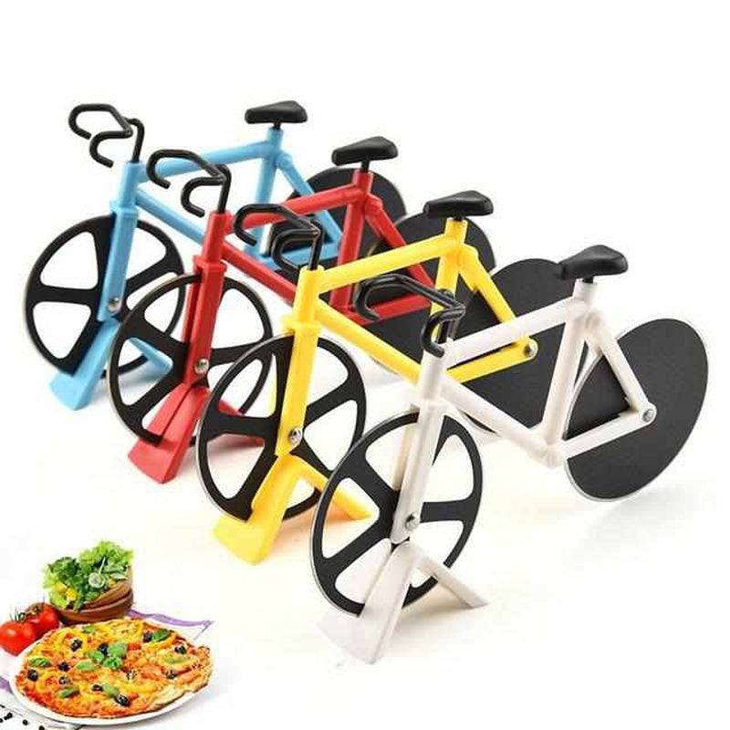 Bicycle Pizzasnijder ( 1+1 GRATIS )-Koopje.com